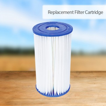 NEW Bestway Cartridge Filter for Above Ground Swimming Pool 2500gal/h Pump 58095