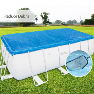 "NEW Bestway Swimming Pool Cover 156""x73"" fits 56251 56241 and 56244 UV resistant"