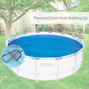 NEW Bestway Solar Pool Covers 4.10m Diameter Round fits 58252 56242 UV resistant