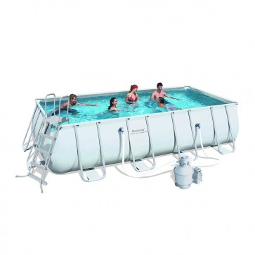 Bestway Above Ground Pool - 5.5m x 2.7m x 1.2m Rectangular