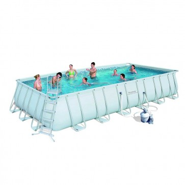 Bestway Above Ground Pool - 7.3m x 3.7m x 1.3m Rectangular