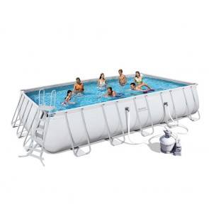 Bestway Above Ground Pool - 6.7m x 3.7m x 1.3m Rectangle