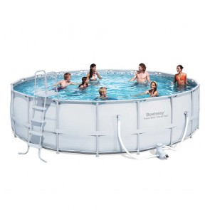 Bestway Above Ground Pool - 5.5m x 1.3m Round
