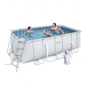 Bestway Above Ground Pool - 4.12m x 2.01m x 1.22m Rectangular