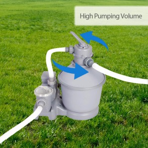 NEW Bestway 2000gph Sand Filter Pump 58315 for Above Ground Swimming Pool
